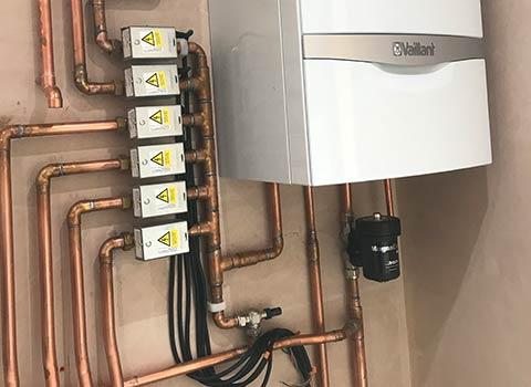 Underfloor heating zones