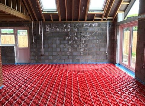 New Underfloor Installation